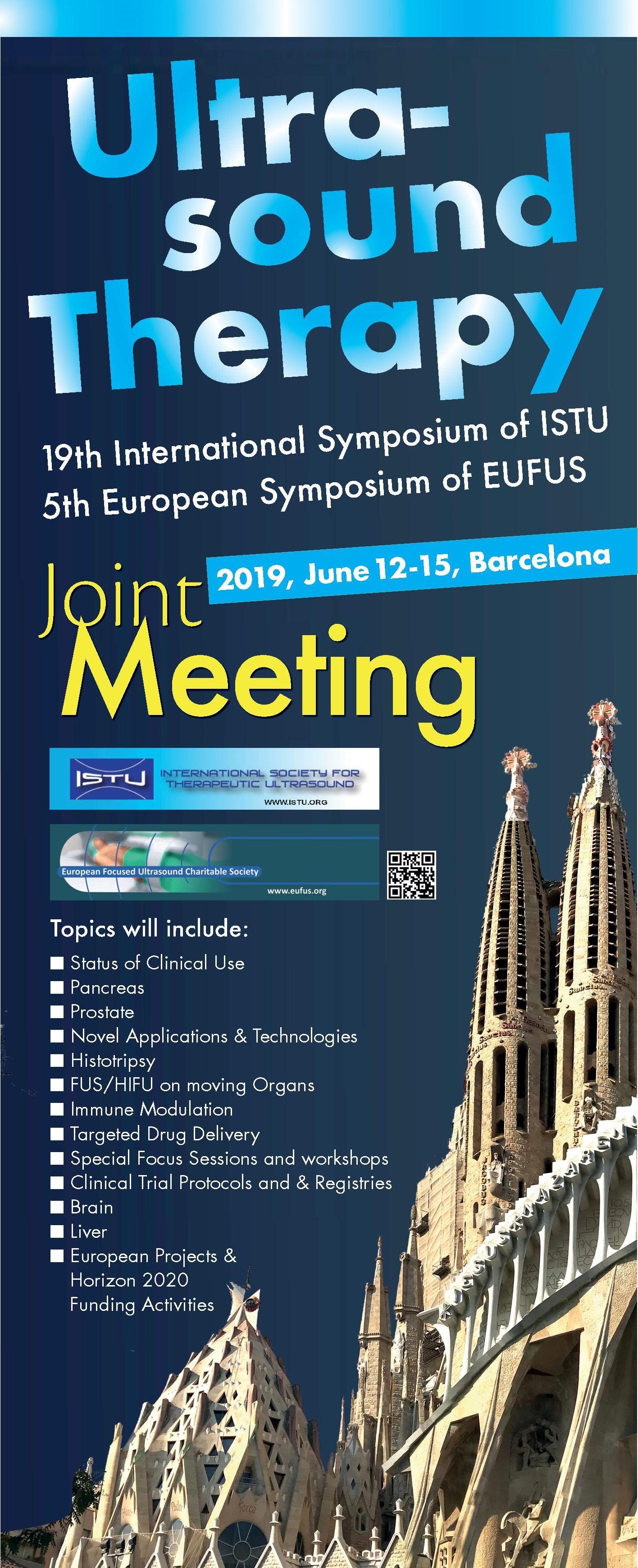 EUFUS Barcelona, June 12-15, 2019