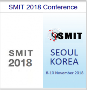 SMIT Conference 2018, Seoul, South Korea
